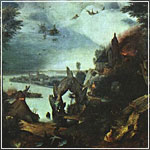 Breugel: Landscape with the Temptation of Saint Anthony
