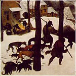 Breugel: The Hunters in the Snow (Winter)